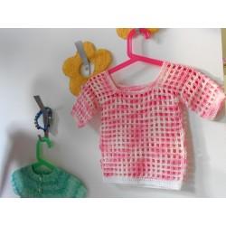 Nóri horgolt kislány pulóver