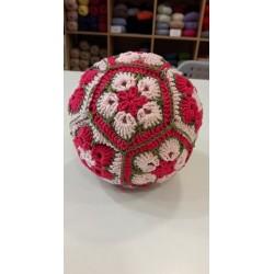 Afrikai virág labdák horgolva