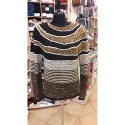 Changing circles kötött női pulóver
