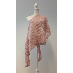 Rosegold női kötött sálkendő