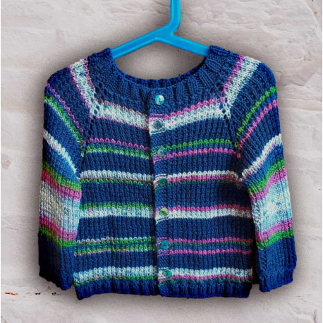 SkyStripes pulóver és kardigán