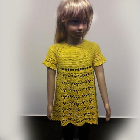 SpringFairy kislány horgolt ruha