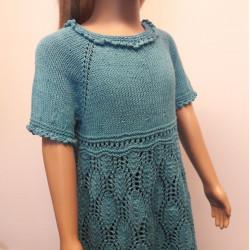Little Miss Daisy kötött lányka ruha