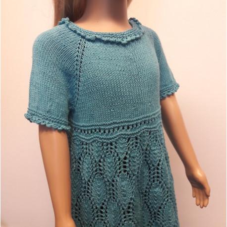 Little Daisy kötött lányka ruha
