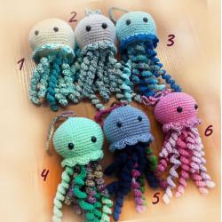 Horgolt medúzák