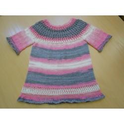 Detti 3/4-es ujjú kislány ruha
