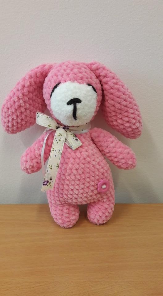 Sleepy bunny/rózsaszín